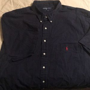Ralph Lauren Polo, shirt sleeve button down, 3XLT